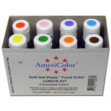 AMERICOLOR Gel Paste Starter Pack - Pack of 8 - Americolour