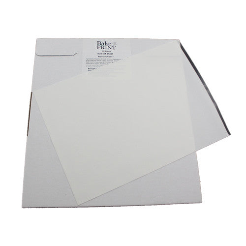 THICK A4 Icing Sheets for Printer 3 x 24 sheets = $50 for 24 Sheets