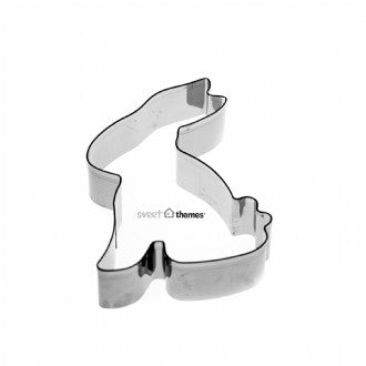 Bunny Sitting Stainless Steel Cookie Cutter