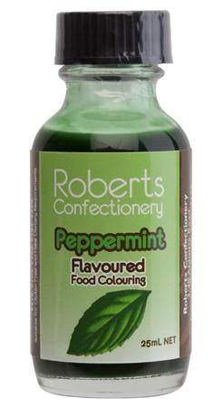 Roberts Confectionery - Peppermint Flavour / Colour 30ml