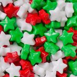 Candy Christmas Stars - 91gm