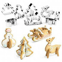 Christmas (8pce) Stainless Steel Boxed Set