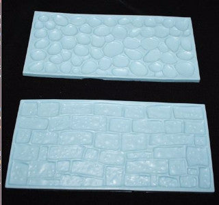 Cobblestones and Stone Embossing Mats