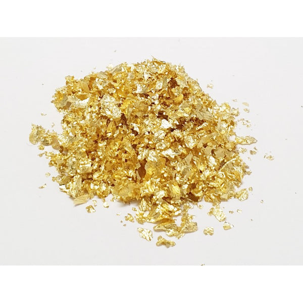 EDIBLE GOLD LEAF FLAKES - 100mg