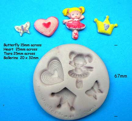 PRINCESS- BALLERINA MOULD