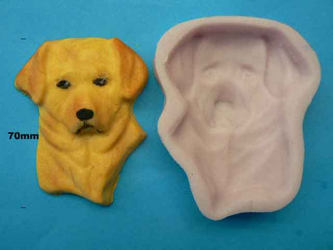 EARL LABRADOR DOG HEAD MOULD