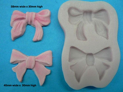 MEDIUM BOW MOULD ( 2 BOWS)