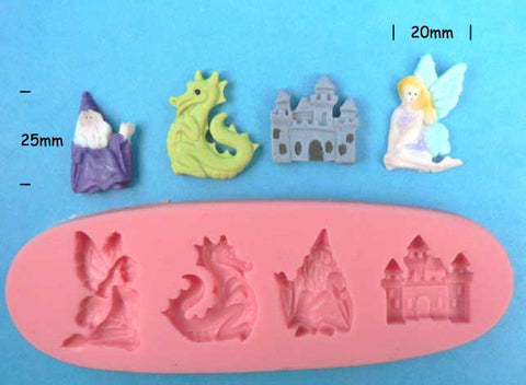 MYTHICAL FIGURES MOULD