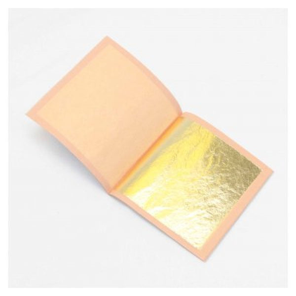 GOLD LEAF 25 SHEETS - TRANSFER  FOOD GRADE