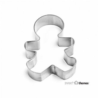 Gingerbread Boy Stainless Steel Cookie Cutter