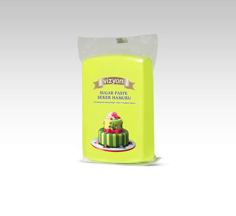 VIZYON Fondant - Light Green 500g