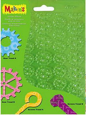 Makins Texture Sheets - Set G - Set of 4
