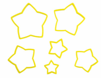 WILTON NESTING STAR CUTTER SET