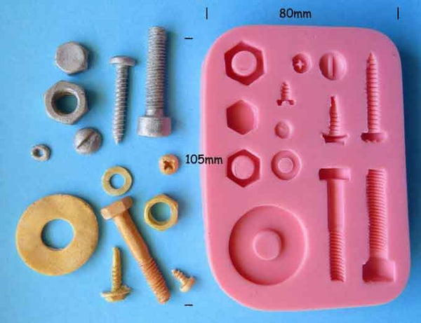 NUTS AND BOLTS MOULD