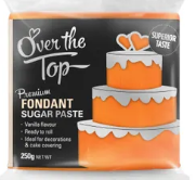 OVER THE TOP SUNSET ORANGE FONDANT 250GM