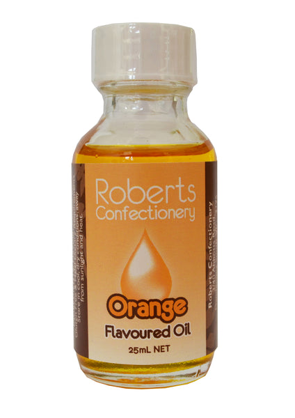 Roberts Confectionery - Oil Flavour - Orange 30mls