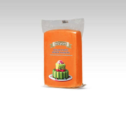 VIZYON Fondant - Orange 1kg