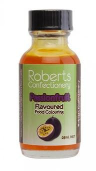 Roberts Confectionery - Passionfruit Flavour / Colour 30ml