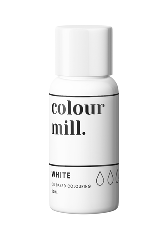 Colour Mill White Oil Based Colouring 20ml