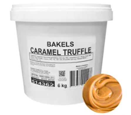 Bakels Caramel Ganache - 6kg LOCAL PICKUP ONLY