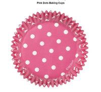 WILTON Dot Baking Cups - Pick your colour