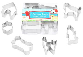 Precious Paws Boxed Mini Cutter Set 6pce - % donated to the RSPCA