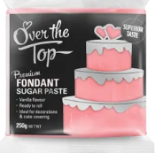 OVER THE TOP ROSE PINK FONDANT 250GM