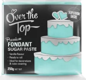 OVER THE TOP SKY BLUE FONDANT 250GM