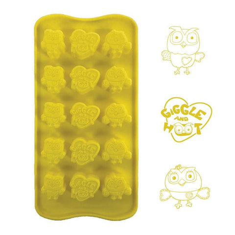Giggle And Hoot Silicone Chocolate Mould Across The Board Cake