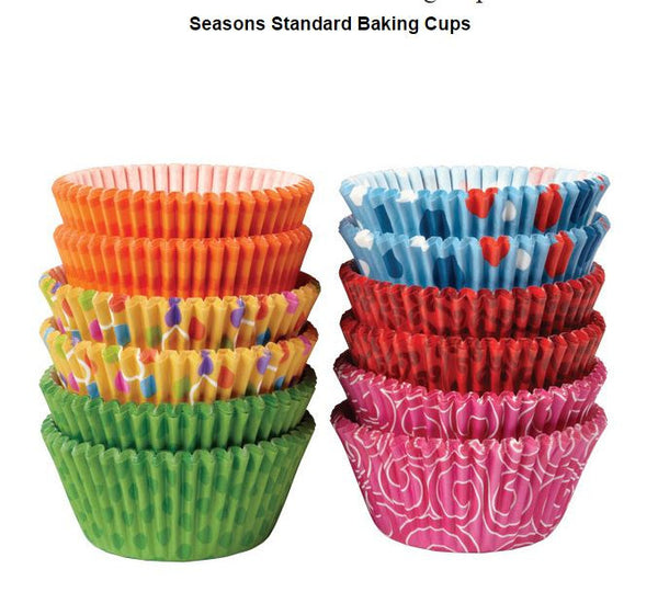 WILTON SEASONS STANDARD BAKING CUPS - 300