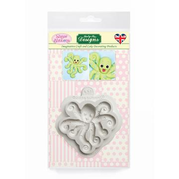 Octopus Sugar Buttons Silicone Mould - Katy Sue