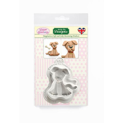 Dog Sugar Buttons Silicone Mould - Katy Sue Mould