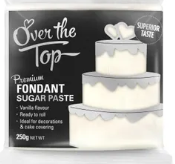 OVER THE TOP WHITE FONDANT 250GM