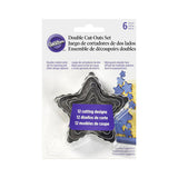 WILTON Double Sided STAR Cutouts
