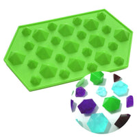 3D DIAMOND SHAPE SILICONE MOULD