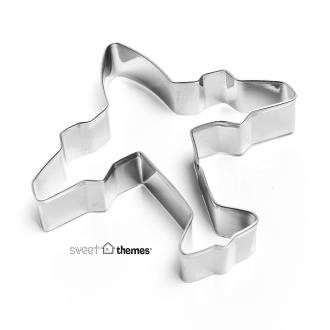 Airplane Stainless Steel Cookie Cutter