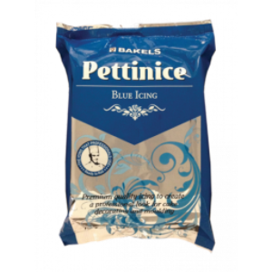 Blue - Bakels Pettinice Fondant 750g Packet - Blue