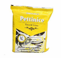 Yellow - Bakels Pettinice Fondant 750g Packet - Yellow