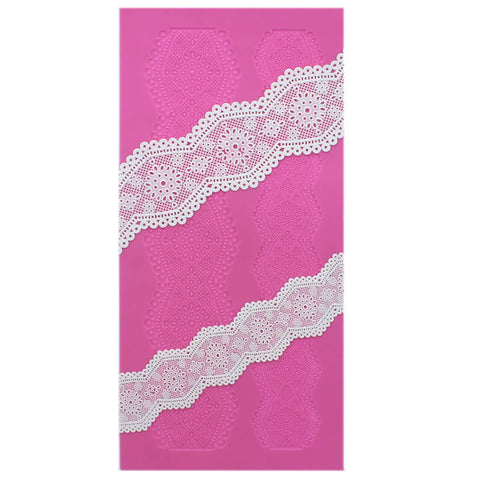 BRODERIE ANGLAISE 3D CAKE LACE MAT - BY CLAIRE BOWMAN