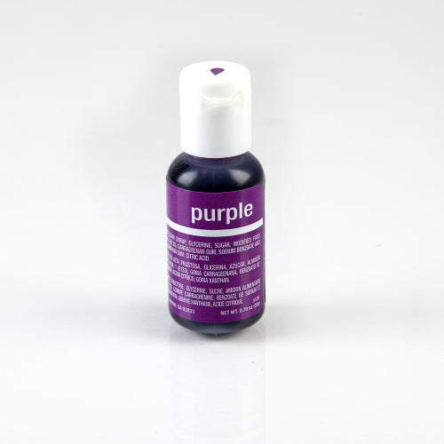 CHEFMASTER LIQUA-GEL PURPLE (0.70OZ)