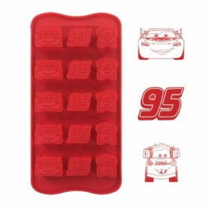 Disney Cars Silicone Chocolate Mould