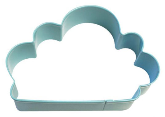 D.LINE CLOUD COOKIE CUTTER 10CM - BLUE