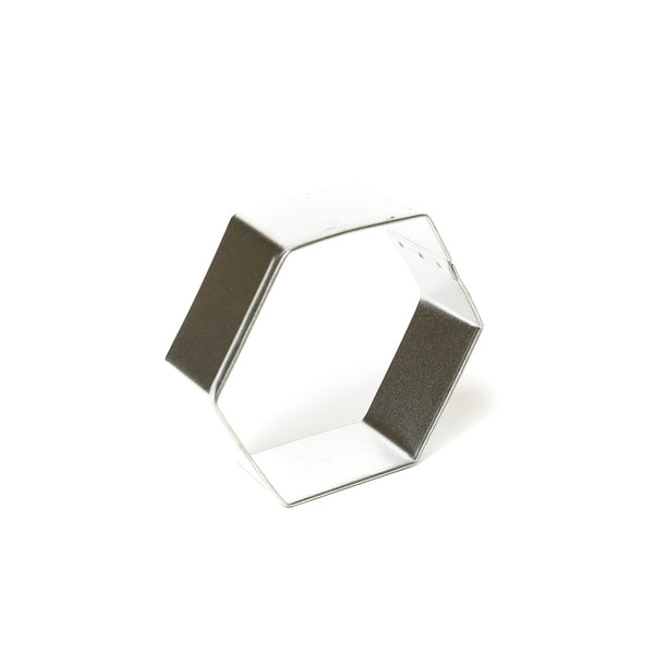 "HEXAGON 3"" COOKIE CUTTER"