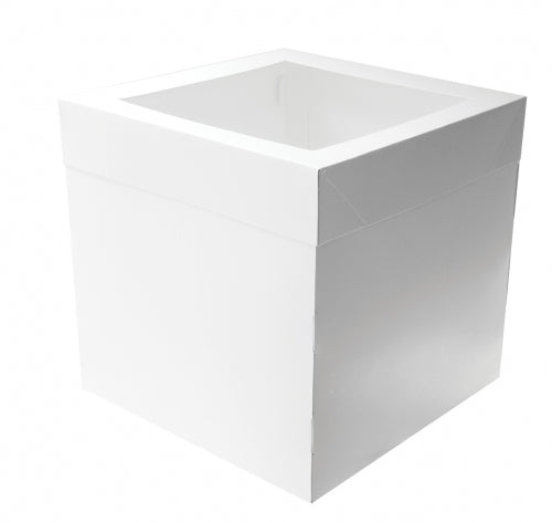 "12"" MONDO CAKE BOX 12IN TALL SQUARE 12IN"