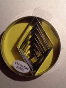 8 pc Diamond Cutter Set in Storage Tin