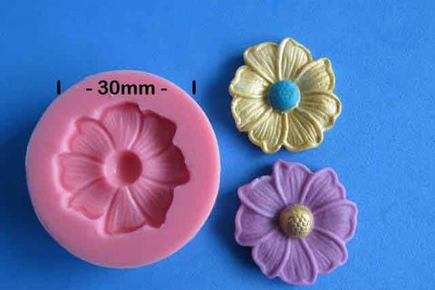 PRETTY BLOSSOM MOULD 30MM