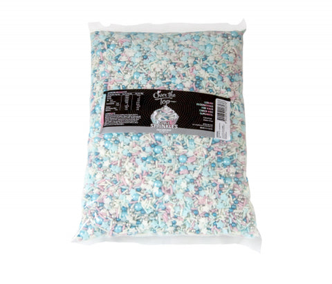 Over The Top Sprinkles  - UNICORN MIX BULK 1KG -  Cake Decorating 1kg - Gluten Free Sprinkles