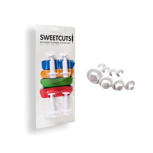 HEXAGON PLUNGER CUTTERS - SWEETCUTS