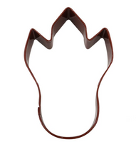 D.LINE DINOSAUR FOOT COOKIE CUTTER 10.2CM - BROWN