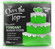 OVER THE TOP GRASS GREEN FONDANT 250GM
